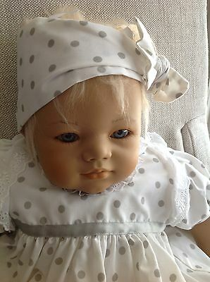 Annette  Himstedt Annchen~Darling Blonde Baby Doll -MIB~ Certificate~+gift Bear!