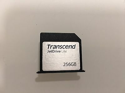 Transcend 256GB JetDrive Lite 350 Storage Expansion Card for 15-Inch MacBook Pro