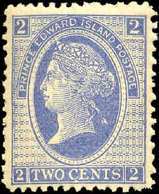 Prince Edward Island #12 mint F-VF OG NH 1872 Cents Issue 2c Queen Victoria