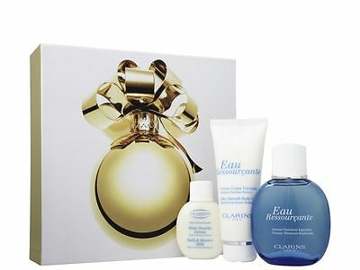 Clarins Eau Ressourcante Body Care Gift Set For Her Women