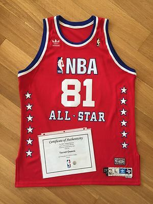 Terrell Owens 2010 NBA All Star Celebrity Game Worn Used Jersey LOA