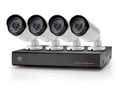 Conceptronic 8-Channel AHD CCTV Surveillance Kit with 1TB WD HD, purpur,
