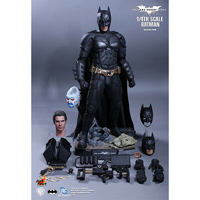 New Sealed Hot Toys' Batman 1/4-Scale Collectible Figure (QS001)