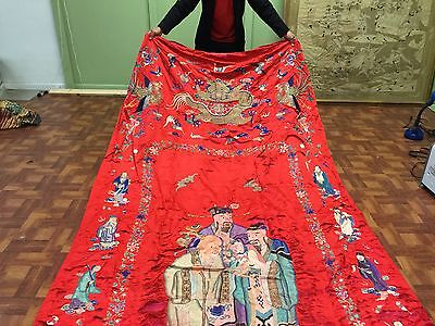 Very Large 19th Century Chinese Textile And Robe