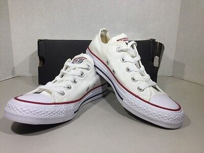 Converse Ox White Mens Size 4 / Women's Size 6 Canvas Sneakers Shoes XJ-81