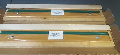 Qty 2 Martin Yale Cutter Paper Blade Knife PL2100 M-0260031 INLAID TOOL STEEL