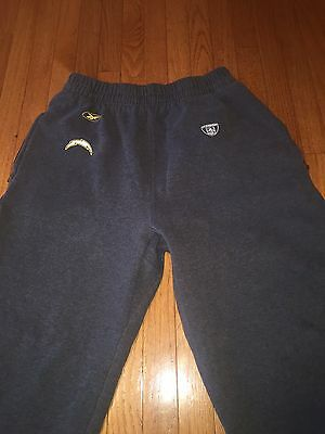 NFL VTG San Diego Chargers Reebok Sweatpants Player Worn Size XL On Field Appeal