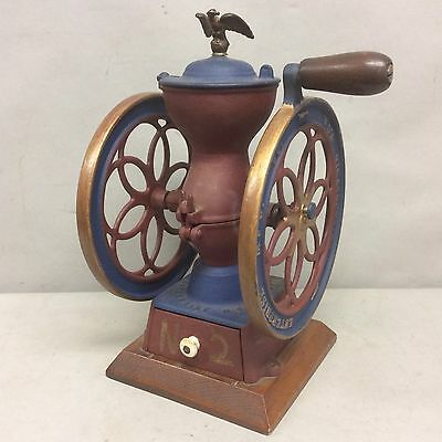 Antique Enterprise No 2 Cast Iron Coffee Grinder