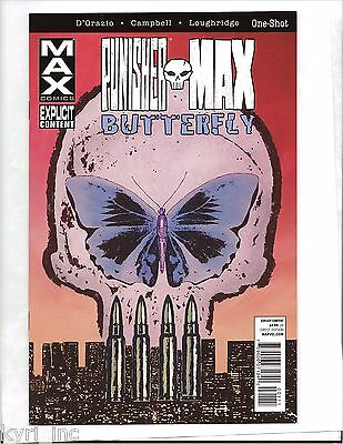 Punisher Max Butterfly One-Shot Marvel Comics B4
