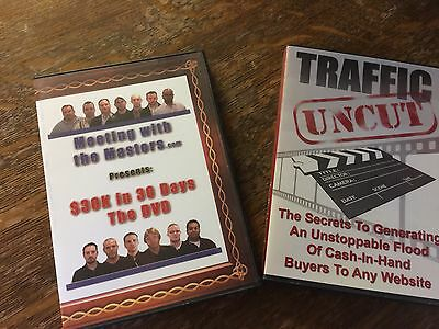 Internet Marketing DVDs...$30k In 30 Days And Traffic Uncut