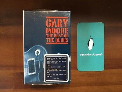 Gary Moore - The Best Of The Blues Cassette Tape Korea Edition Sealed