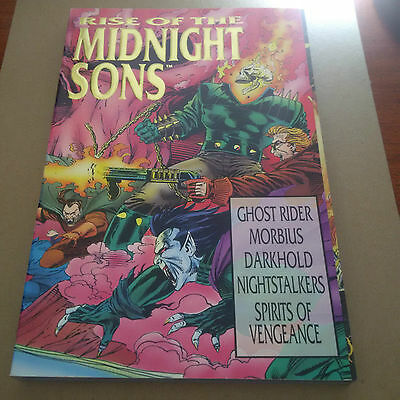 RISE OF THE MIDNIGHT SONS Joe & Andy Kubert TPB SC 1993 NM Marvel Ghost Rider