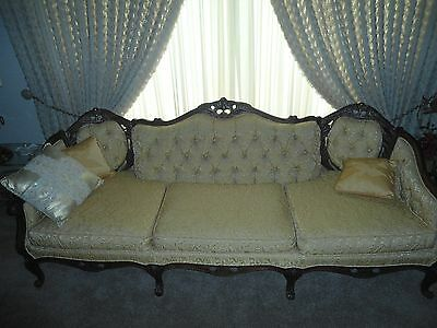 Vintage French Provincial Antique Sofa Couch Super Nice!