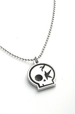 One OK Rock Metal Pendant with Chain Ball Necklace Black