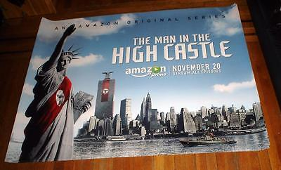 The Man In The High Castle Amazon Tv 5Ft Subway Poster Rare 2015