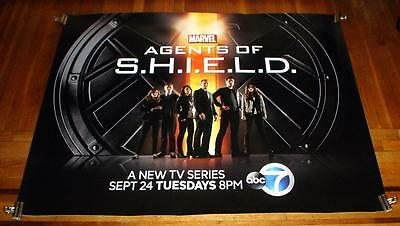 MARVEL AGENTS OF SHIELD AGENTS OF S.H.I.E.L.D. 5FT subway POSTER RARE 2013