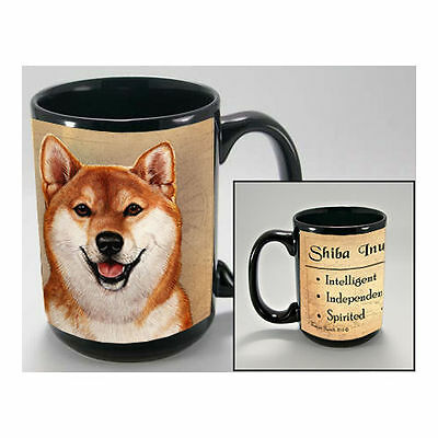 Shiba Inu Faithful Friends Dog Breed 15oz Coffee Mug Cup