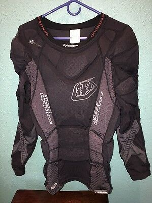 Troy Lee Designs Padded Body Armour Shirt  Men's XL VERY GOOD Condition Must See