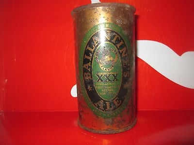 Vintage Ballantine's Ale Xxx  12 Oz.flat Top Collectible  Beer Can. 1950