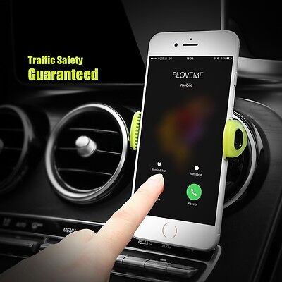 Universal Car Phone GPS Holder Air Vent Mount for Samsung S8 7 6 iPhone 7 6 Plus