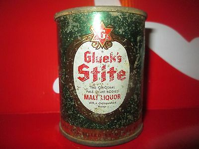 "Lil"" Stite  8 Oz  Flat Top Collectible  Beer Can. Minneapolis, Mn. 1953"