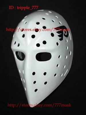 GIFT FIBERGLASS VINTAGE NHL ICE HOCKEY GOALIE HELMET MASK Bernie Parent HO103