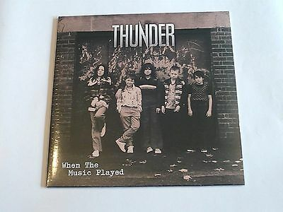 "Thunder 10"" When The Music Played"