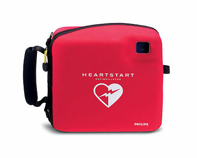 Philips FR2+ Heartstart Defibrillator AED w/ Case, Battery Pads 3 Year Warranty