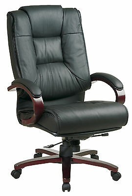 Pro-Line II Series High-Back Leather Executive Chair Office Star FREE SHIPPING