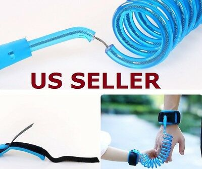 Anti-Lost Band Baby Kid Child Safety Harness Anti Lost Strap Wrist Leash COOL