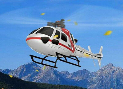 XK K123 2.4GHz 6CH Brushless 3-Blade RC Helicopter RTF Version Radio Control RC