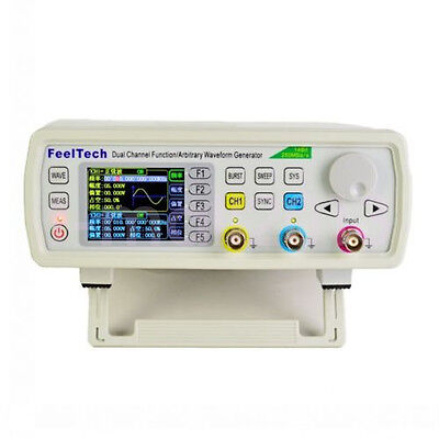 30MHz Dual Channel DDS Function Signal Generator Arbitrary Waveform Pulse Source