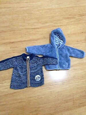 bulk baby boy cardigan coat jacket 0 6-12 months