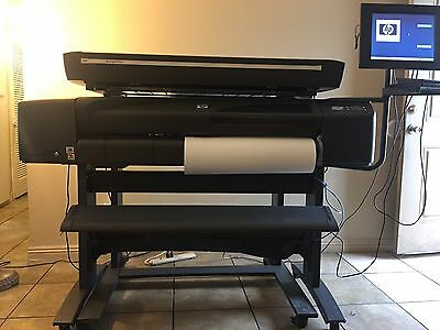 Hp Designjet 800ps Large Format Printer and Scanner Hp Designjet 815 mf