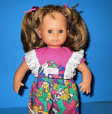 Balica Doll Blue Eyed Brunette Max Zapf Collection West Germany VTG 35 Z 14 1989