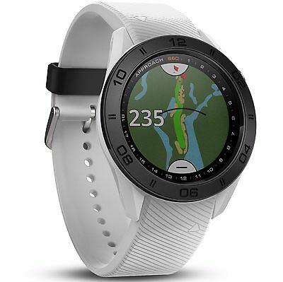 Garmin 'Approach S60' Golf GPS Watch - White (40,000 Preloaded Courses)