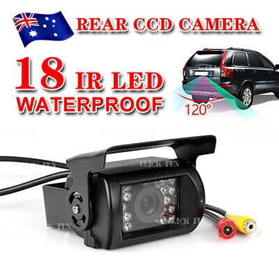 18 IR LED Reversing CCD Camera Car Rear View Reverse Waterproof Night Vision
