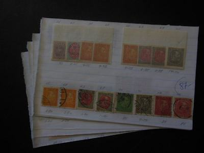 EDW1949SELL : ICELAND Nice Mint & Used collection on Old Time pgs. Sc Cat $1,126