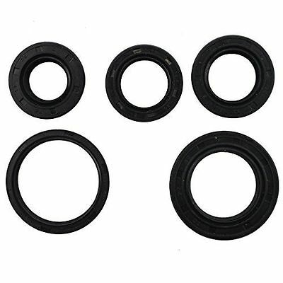 STON 5pcs Scooter Oil Seal Set GY6 50cc 139QMB Chinese Scooter Part Crankshaft