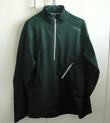 Reebok Unisex Black Running Cycling Sports Top As New Size M see measurements