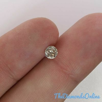 Buy Round Loose Diamond 0.49 Carat- Fancy Color SI3 For Engagement Ring Natural