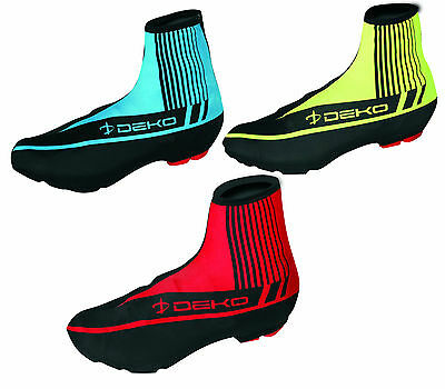 Cycling/Bicycle water resistant Shoe covers Lycra bike Overshoe Zippered