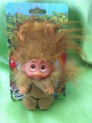 Trolls Dam Leo The Lion Troll Doll Vintage Wildlife  Mint Toy Collectable Gift