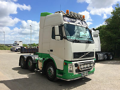 VOLVO 2007 (07) FH13 6x2 480Bhp Globetrotter XL Tractor Unit with Kelsa bars