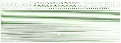 Green Lining - Transfers sheet - HMRS PX107 - free post F1