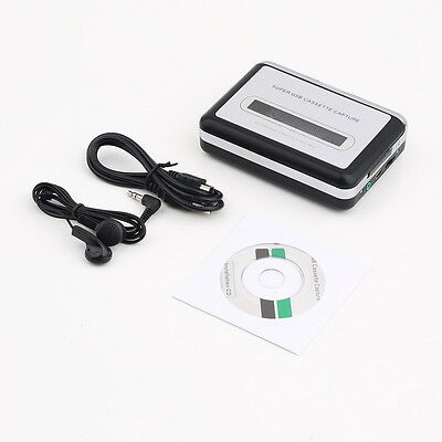 Portable Tape to PC Super USB Cassette-to-MP3 Converter Capture PLAYER SY