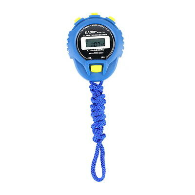 KD-6128 Chronograph Digital Timer Stopwatch Sport Counter Odometer Watch SY