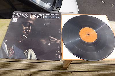 Miles Davis - Kind of Blue UK CBS Stereo SBPG 62066 UK LP Rare