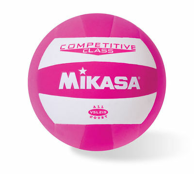 Mikasa Competitive Class All Court Volleyball Synthetic Leather Cover Pink