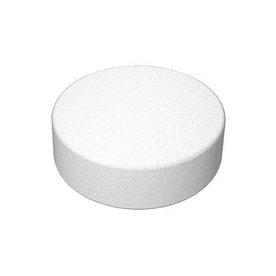 1020 white self adhesive DVD Spider CD foam holder, dots, hubs, studs, buttons